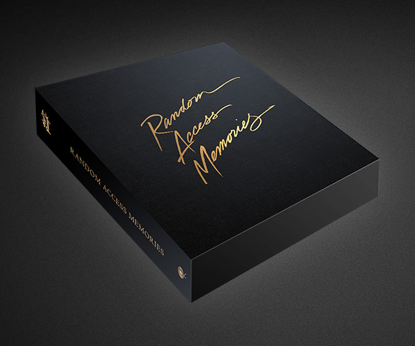 Daft Punk Random Access Memories Deluxe Box Set Edition